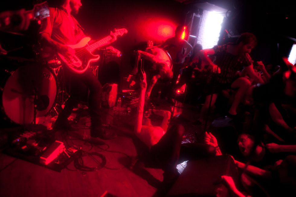 Refused and OFF! Play a Small Greenpoint Club After Waterfront Show Is Rained-Out