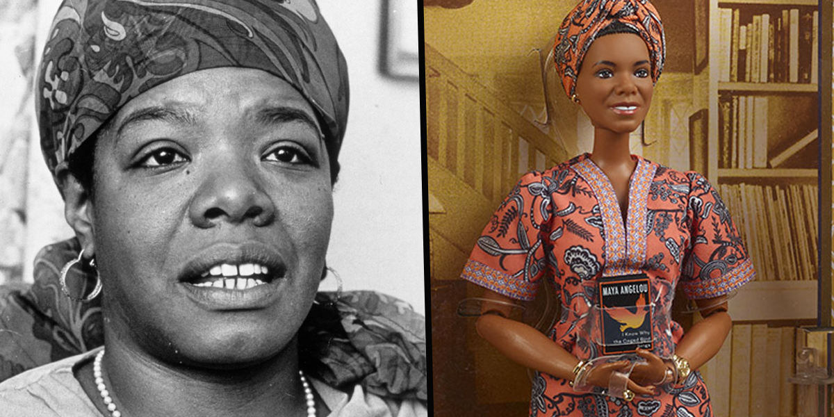 Mattel Debuts New Barbie Doll Honoring Maya Angelou Ahead of Black History Month