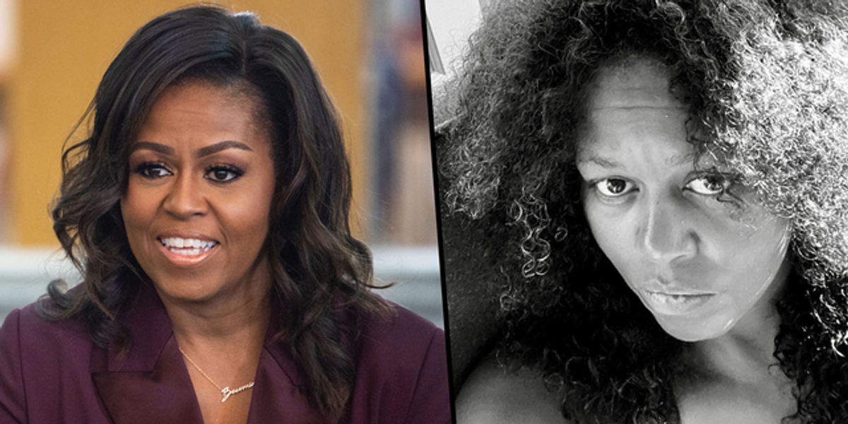 Michelle Obama Shows off Her Natural Curls in Bare-Faced Birthday Selfie