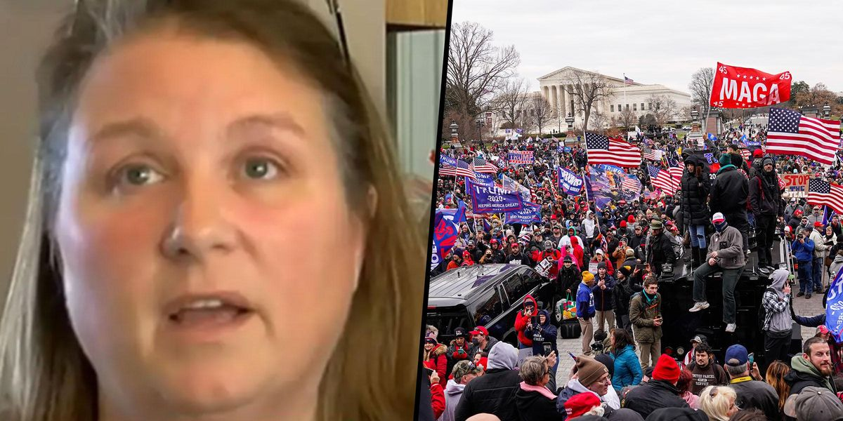 Nurse Fired After Posting Video From US Capitol Riots