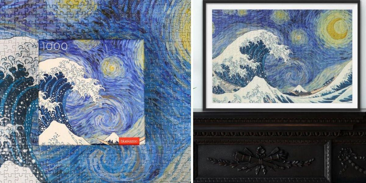 Brand New 'Starry Wave' Jigsaw Is the World's Most Beautiful Puzzle