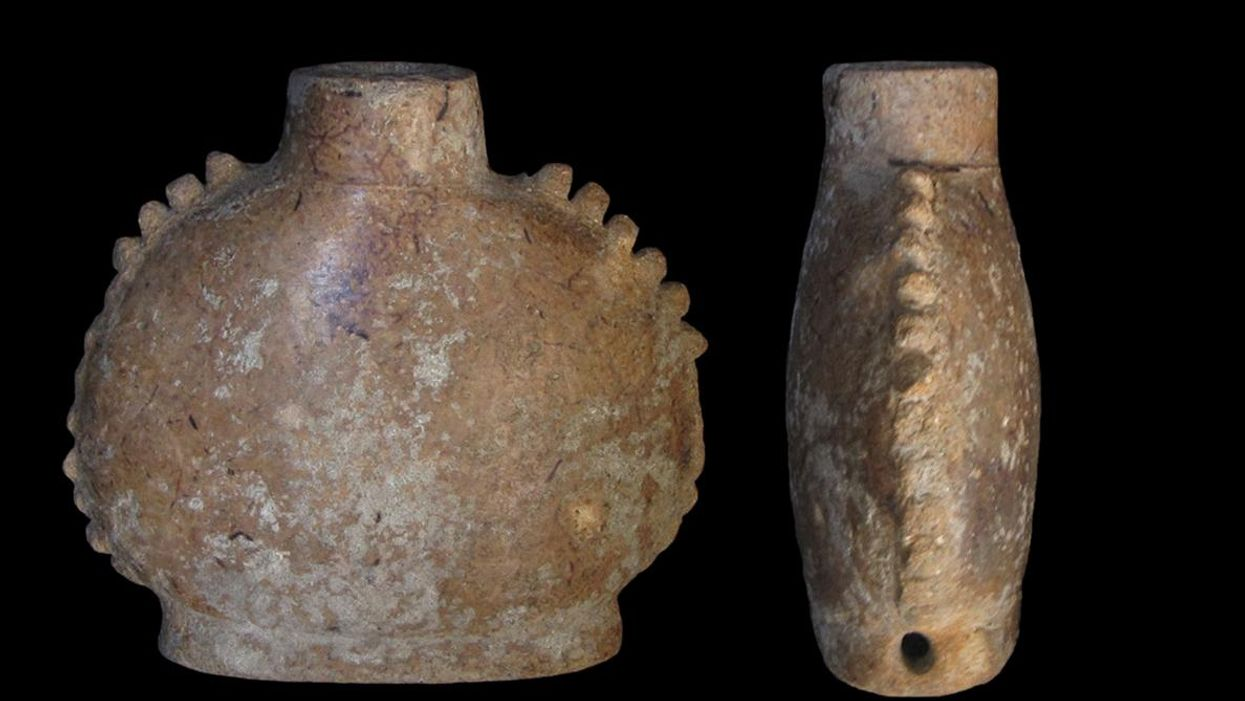 Archaeologists identify contents of ancient Mayan drug containers