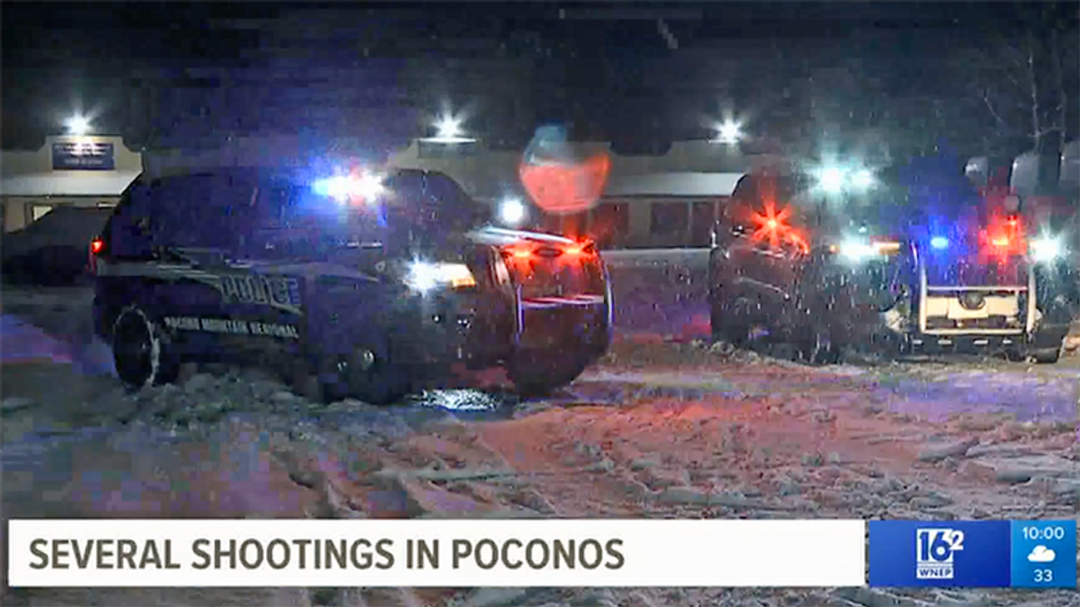 WATCH: Massive manhunt underway after 4 separate shootings in Pennsylvania