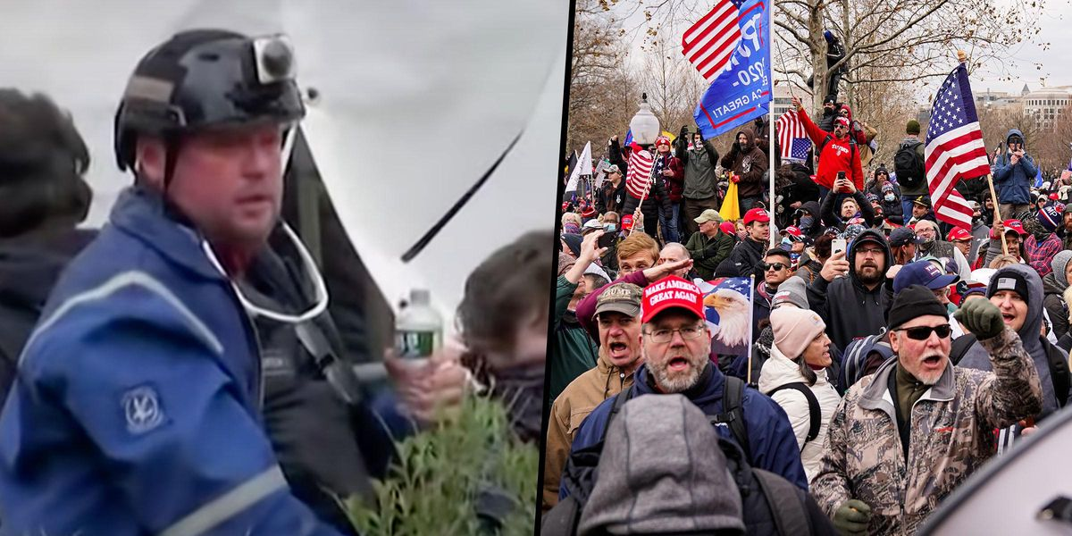 Capitol Rioter Allegedly Threatened to Shoot His Own Kids if They 'Snitched' on Him