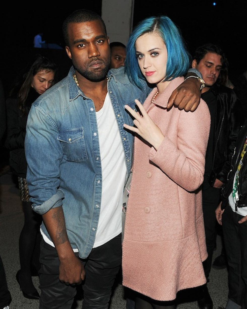 Kanye West's Paris Fashion Week Afterparty, Complete with Kim Kardashian, Katy Perry and Go-karts