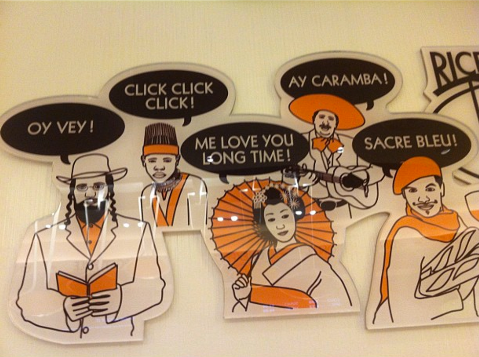 Questionable Wall Decor Spotted at Rice to Riches