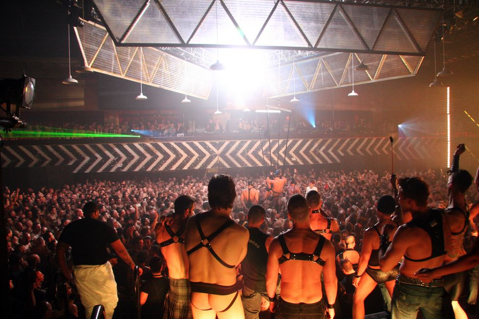 A Survival Guide For Gay S&M Mega-Blow-Out, The Black Party