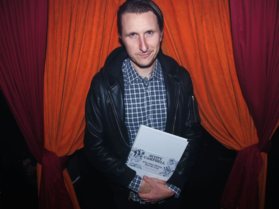 Scott Campbell and Friends Celebrate His New Book, If You Don't Belong, Don't Be Long