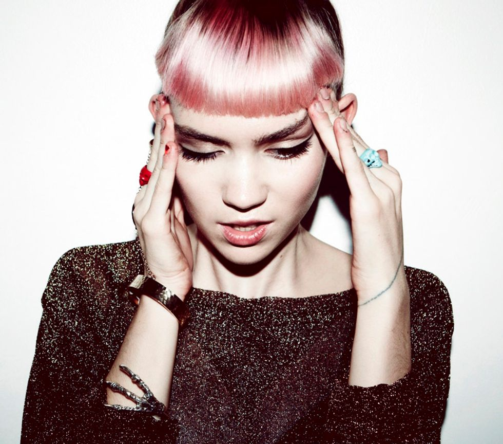 Tips for Today: Grimes, Gilbert Gottfried + Creatures of Comfort Sale