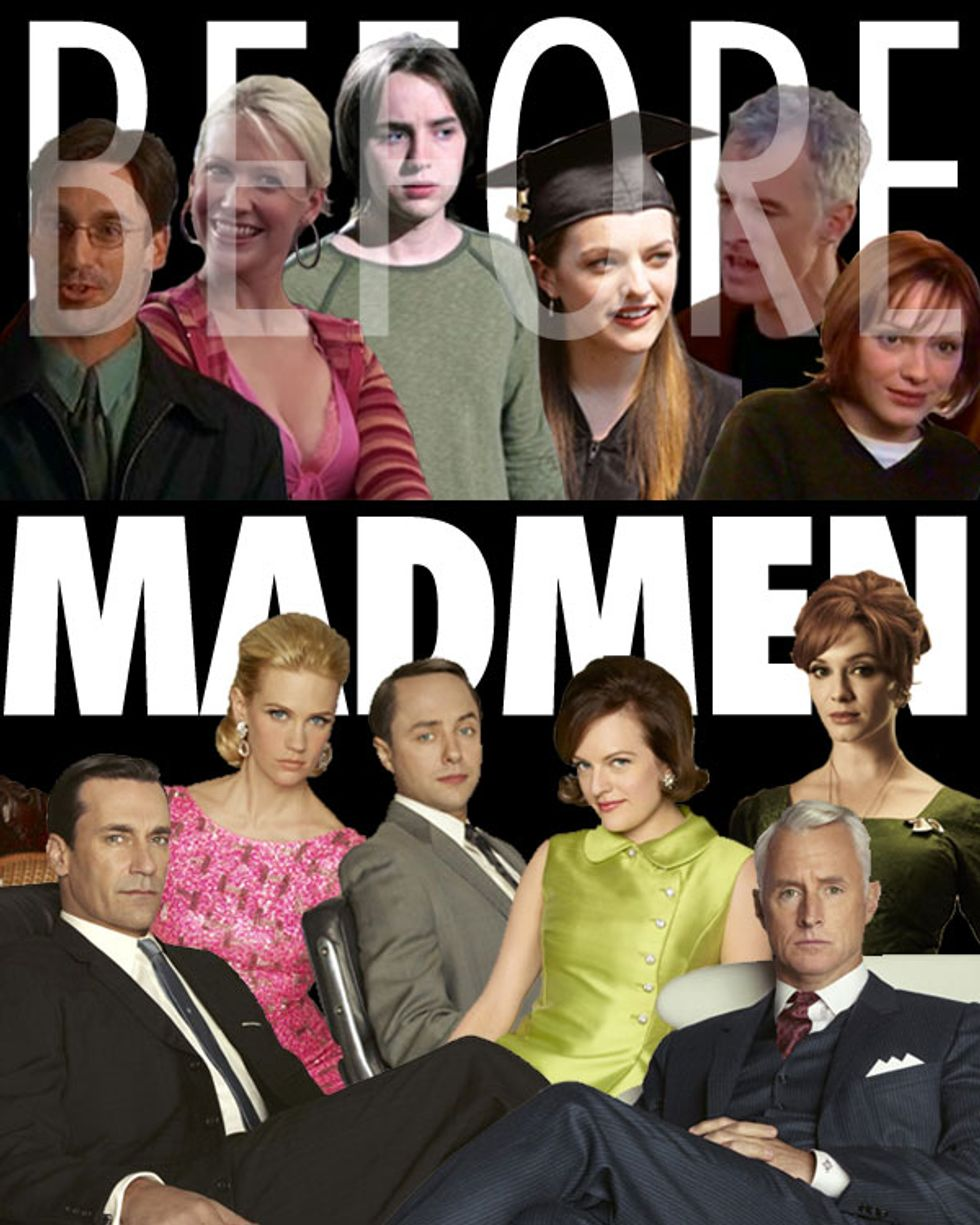 Before They Were Mad Men