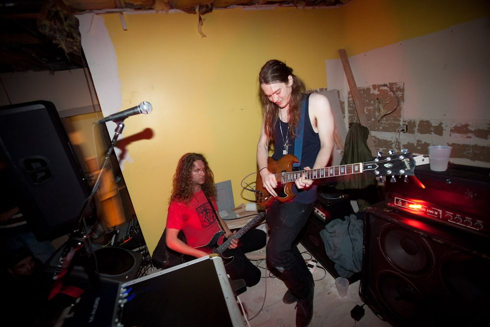 Liturgy (Almost) Plays a Break-In Party at the Old Secret Project Robot in Williamsburg