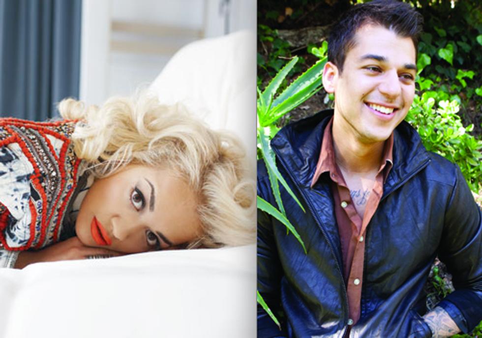 Beautiful People Dating Beautiful People: Rita Ora ('12) and Rob Kardashian ('11)
