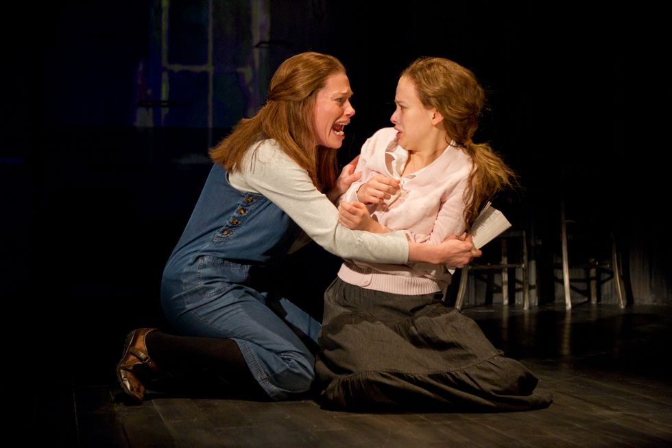 Marin Mazzie's Scary (in a Good Way) in Carrie the Musical