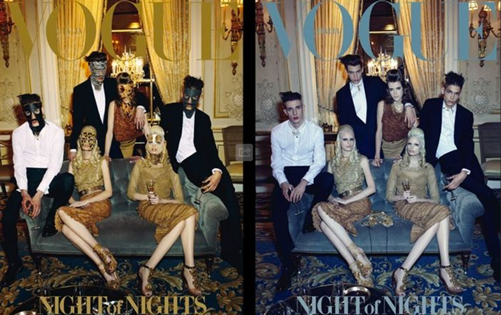 Vogue Italia's Fetishized Prom Cover + Madonna's New Fragrance Ad Censored by ABC in Today's Style Scraps