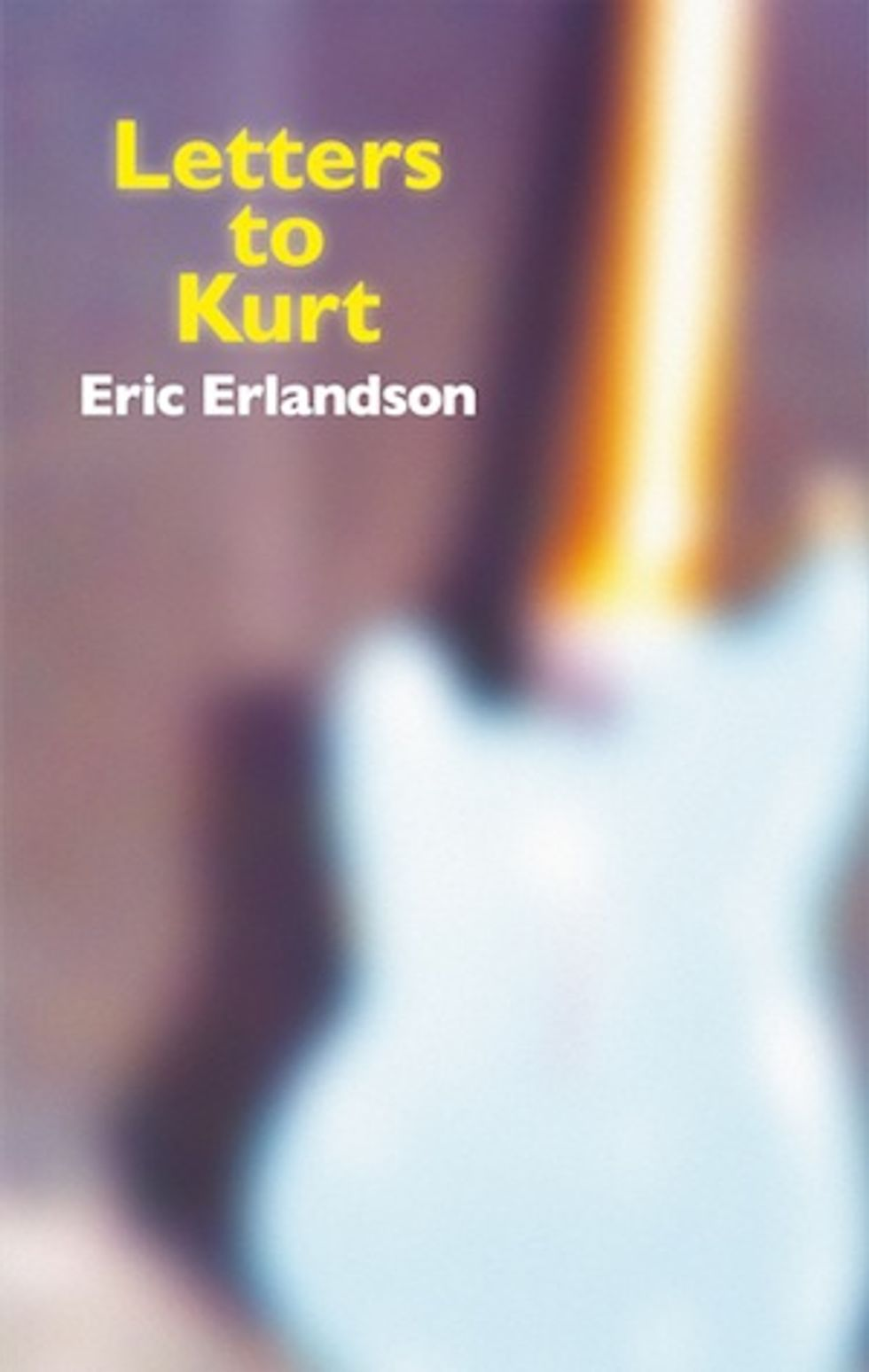 RIP Kurt Cobain:  Eric Erlandson's Letters to Kurt Reading +  Jesse Frohman's Photo Show