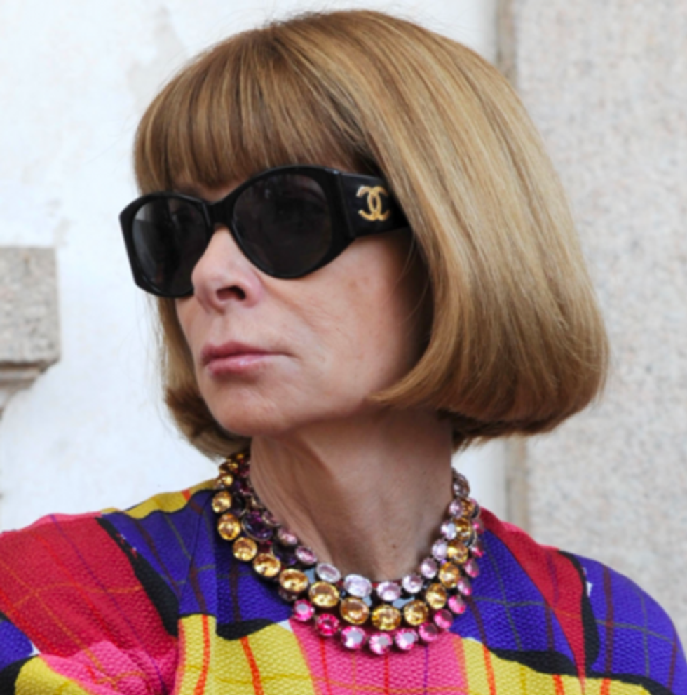 Anna Wintour Gets Name-Checked By Nicki and Kanye