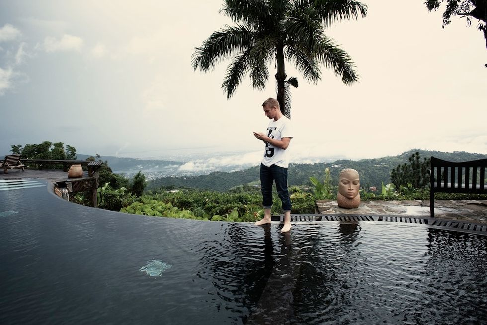 Photos from Diplo's New Book,128 Beats Per Minute