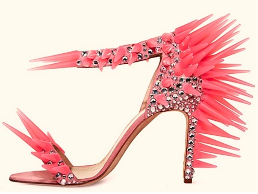 """Stiletto Sneakers"" + Carine Roitfeld's New Magazine in Today's Style Scraps"