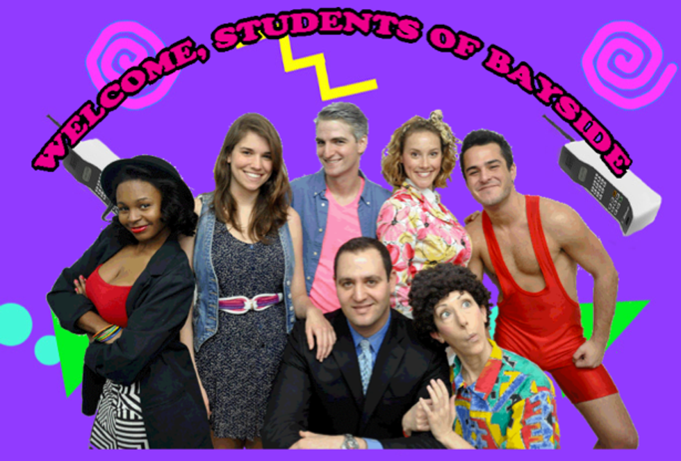 Saved By the Bell Gets the Off-Broadway Treatment