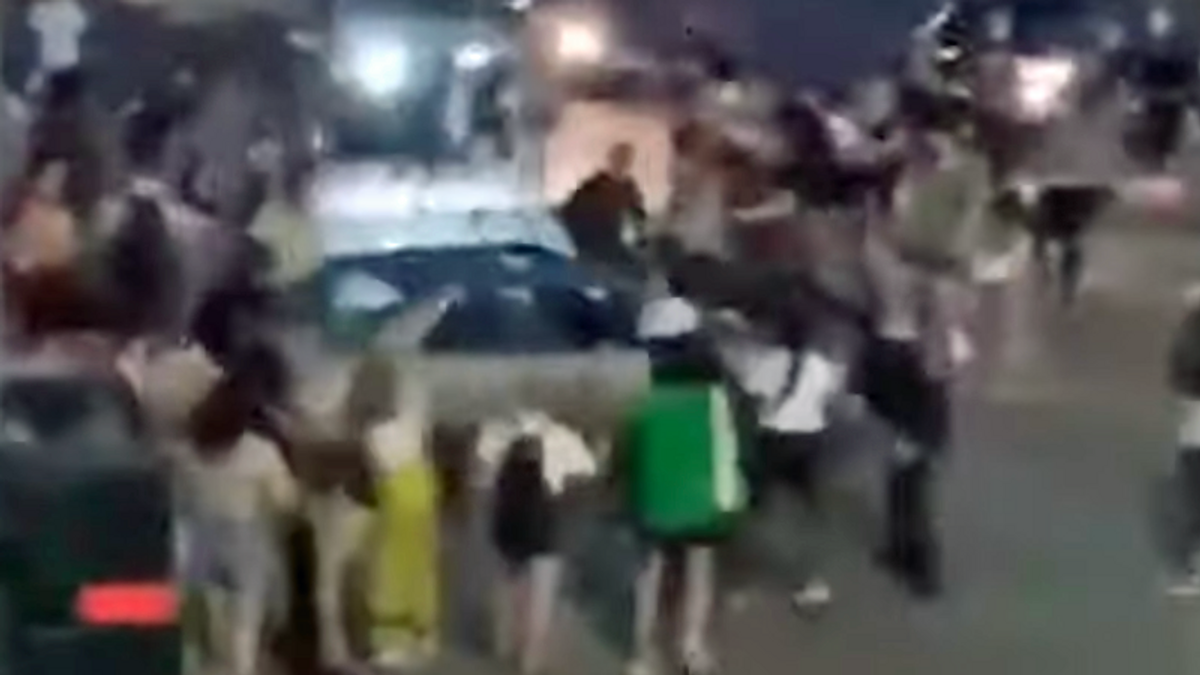 Man who plowed car into BLM protest gets a free pass -- but not the protesters