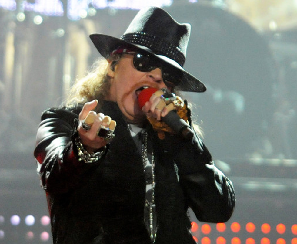 Axl Rose Is Going to Be Inducted in the Rock and Roll Hall of Fame Whether He Likes It Or Not