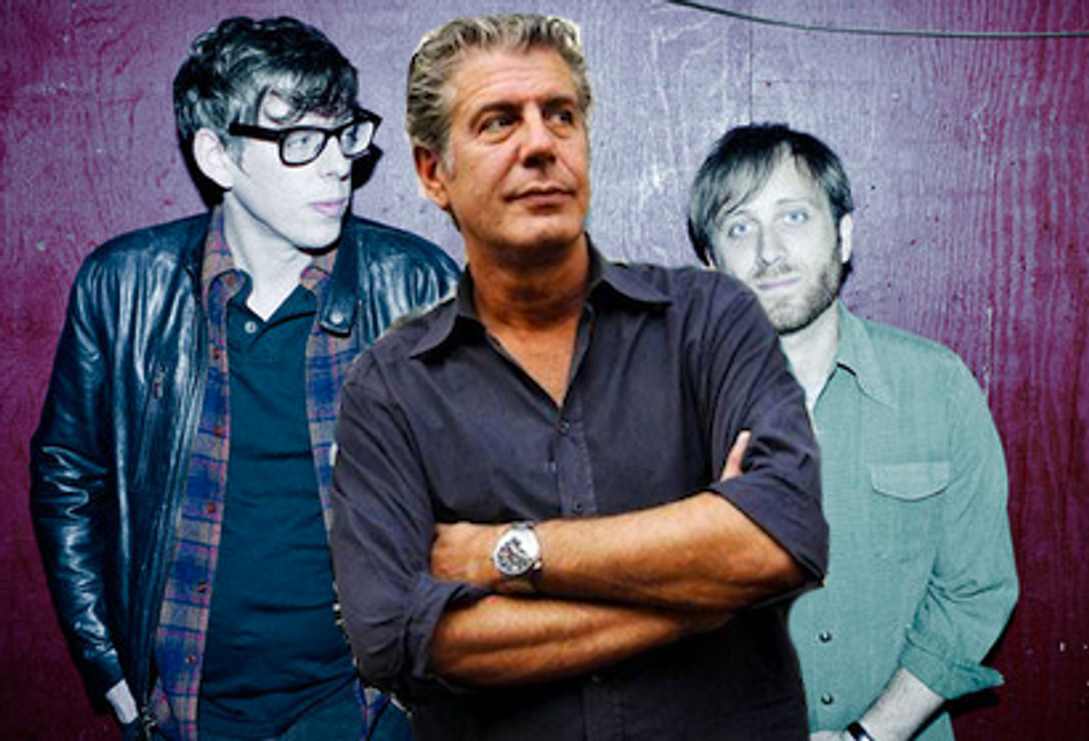 """Watch The Black Keys """"Kidnap"""" Anthony Bourdain & Eat BBQ on No Reservations"""