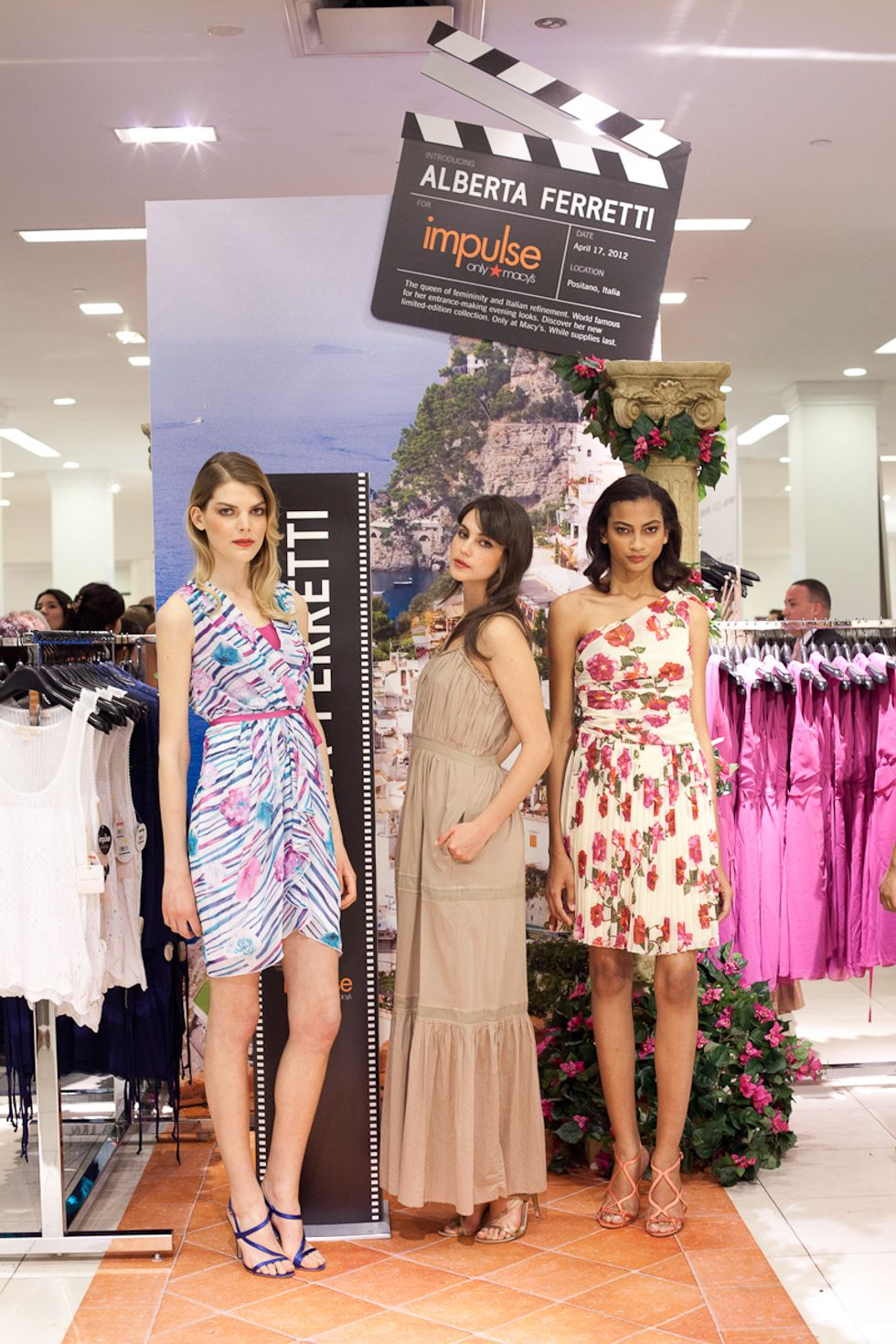Macy's + PAPER Celebrate Launch of Alberta Ferretti for Impulse
