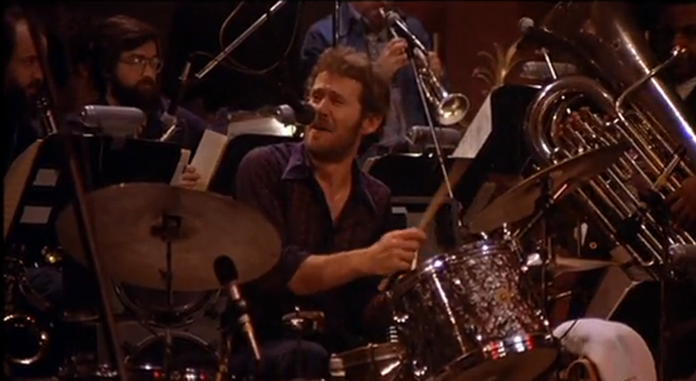 """The Band's Levon Helm Performing """"The Night They Drove Old Dixie Down"""""""