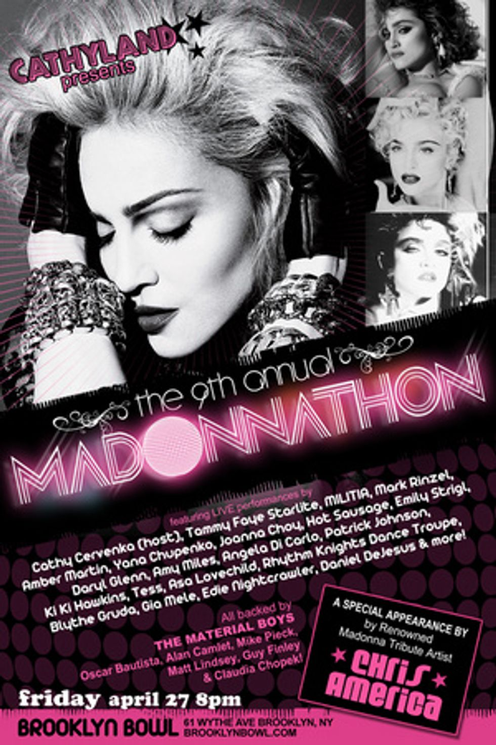 Get Into the Groove at the 9th Annual Madonnathon