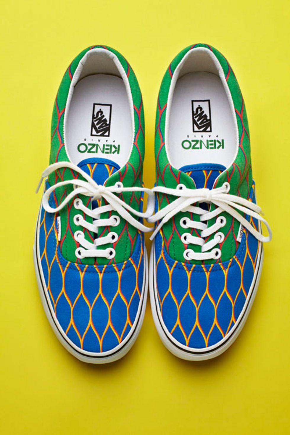 We Want: Vans X Kenzo Sneakers
