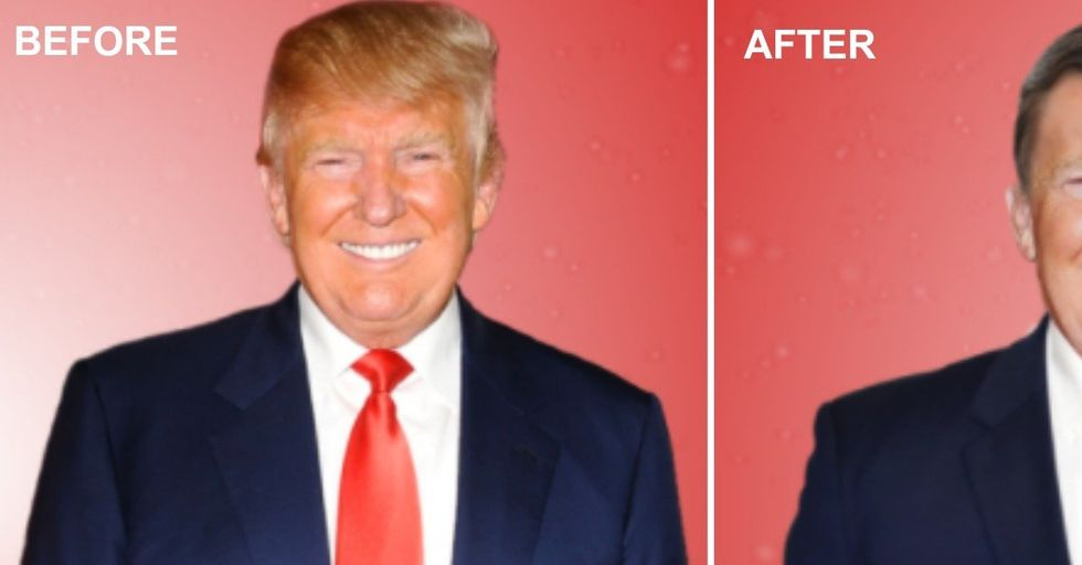 'GQ' Made a Hilarious Video Where They Give Donald Trump a 'Normal' Makeover