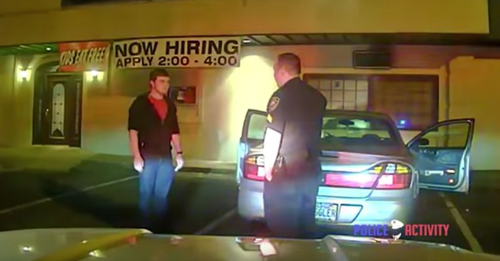 Cops Pull This Kid Over and Give Him the Most Magical Sobriety Test Ever