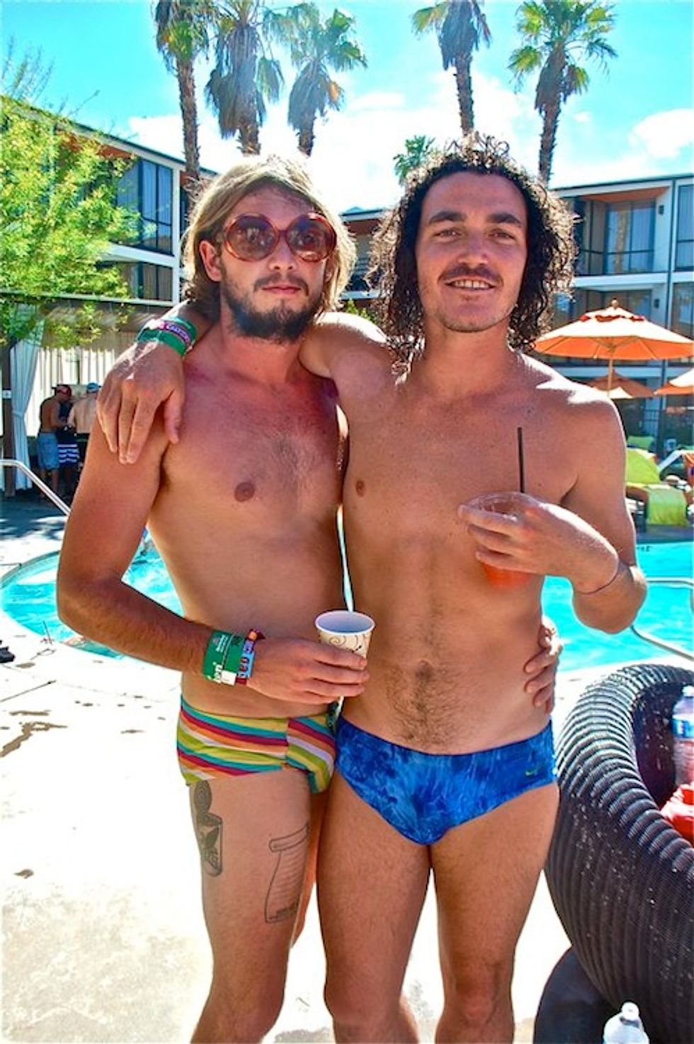 Coachella Weekend #2: The Rolling Stone/Milk Studios Pool Party + the KROQ House