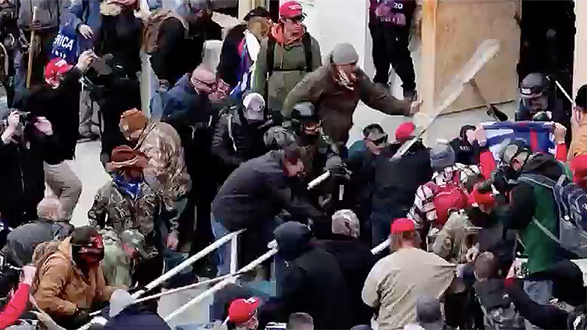 The pro-Trump riot at the Capitol was a modern-day lynch mob