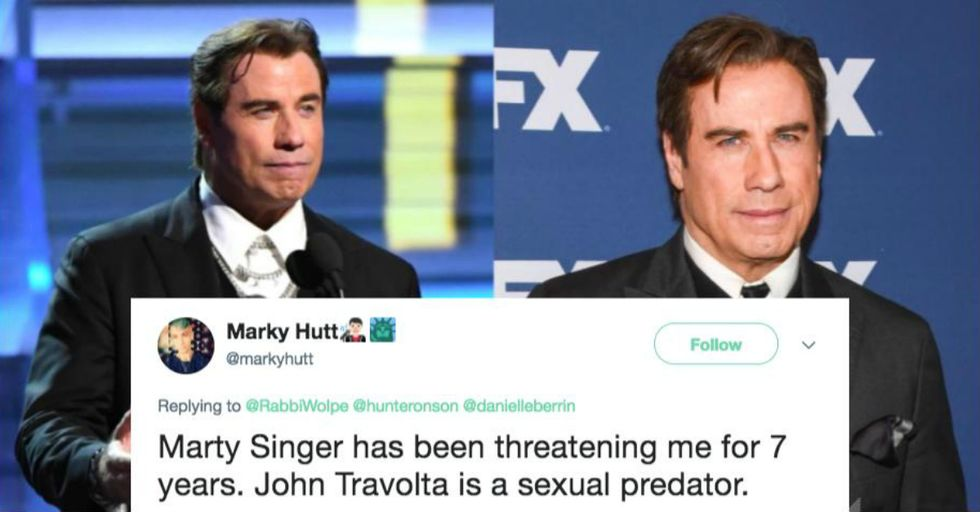 A Male Massage Therapist Says John Travolta Sexually Assaulted Him in the Steam Room
