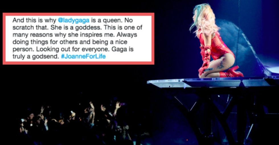 Lady Gaga Interrupted Her Own Concert to Help an Injured Fan
