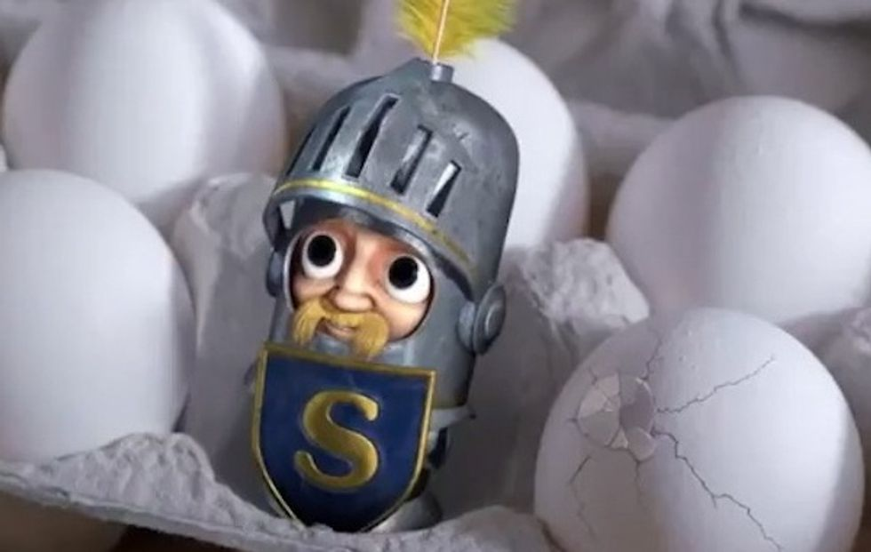 Sir-Can-a-Lot Is SPAM's New Spokes-Toon, FYI.