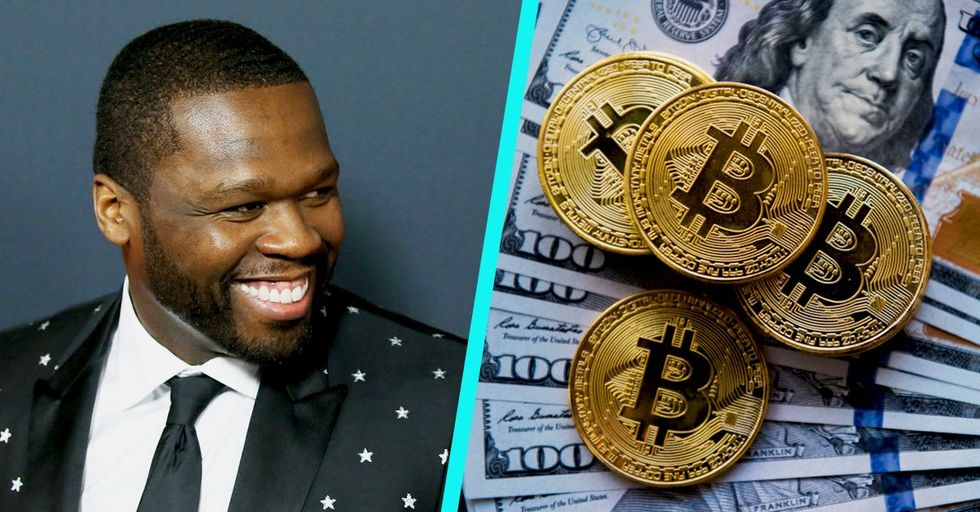 50 Cent Forgot He Had Bitcoin and Ended Up 'Accidentally' Making 8 Million Dollars