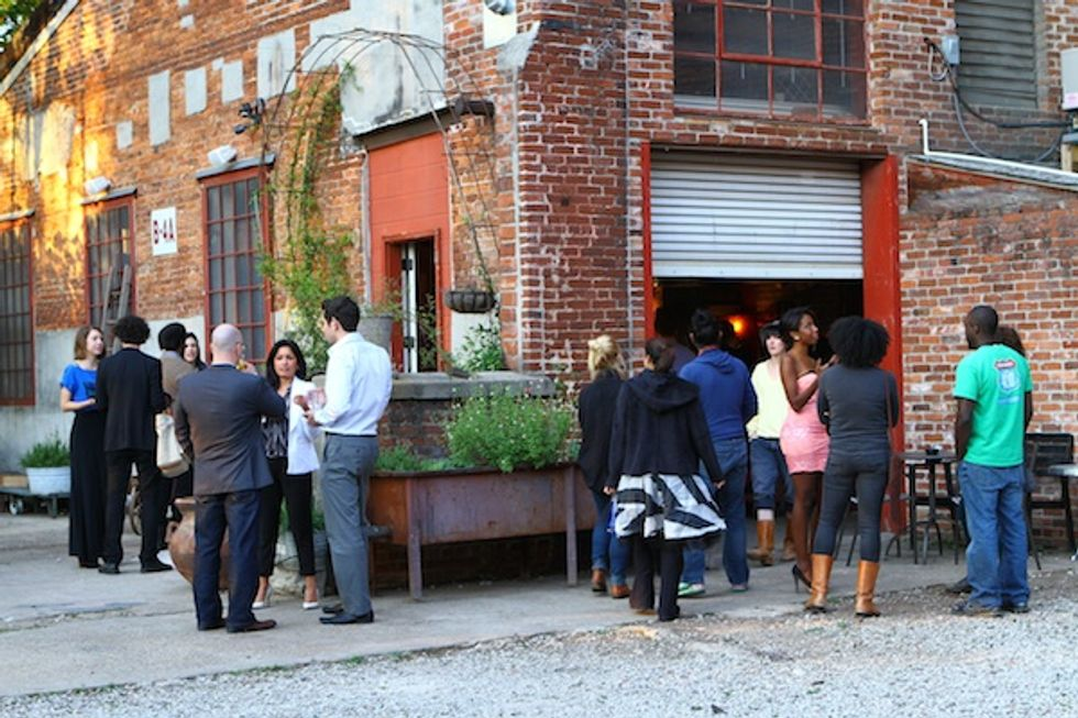 Kanon Hosts a Rustic Dinner at the Goat Farm in Atlanta