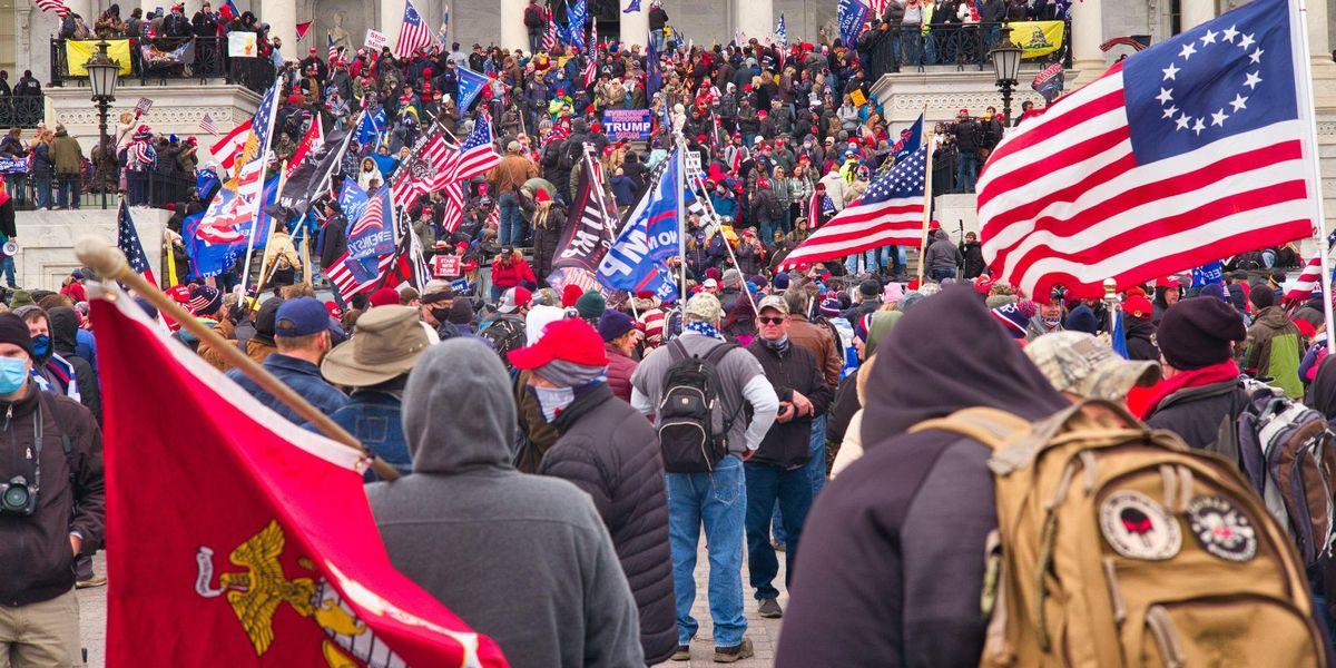 Trump Capitol protest riot