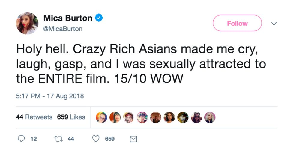 30 Absolutely Perfect Twitter Reactions to 'Crazy Rich Asians'