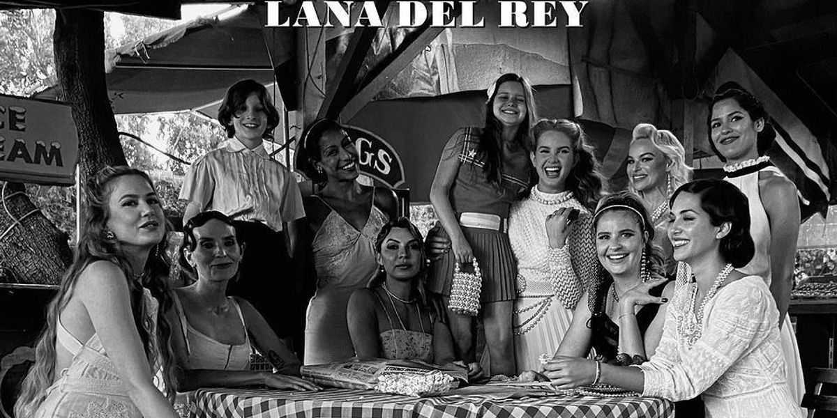 Some of Lana Del Rey's Closest Friends Are 'Rappers'