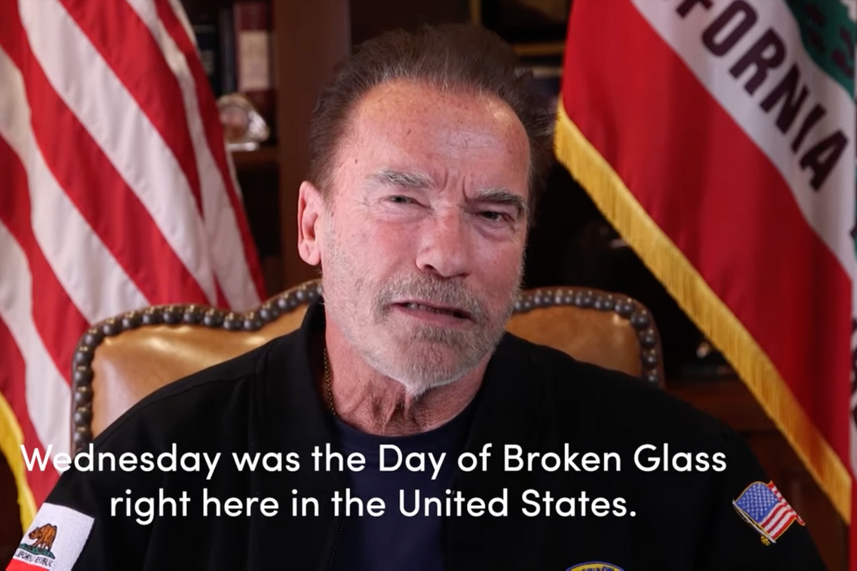 Arnold Schwarzenegger's incredible video on the Capitol riots is his best ever performance