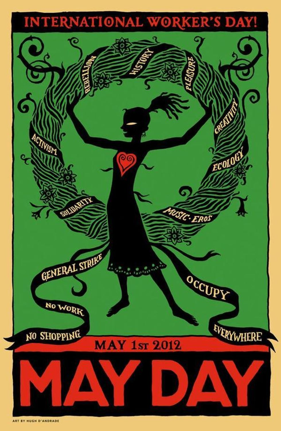 Occupy Wall Street's NYC May Day Schedule