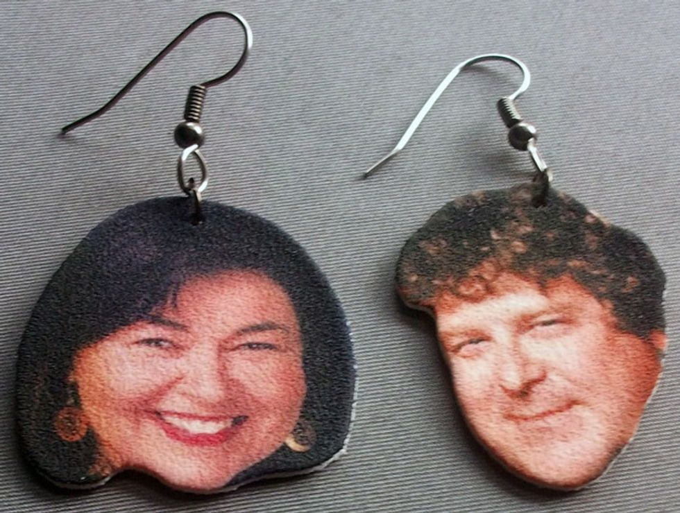 The Morning Funnies: No Sex in the Charlie Sheen Room + Roseanne Earrings