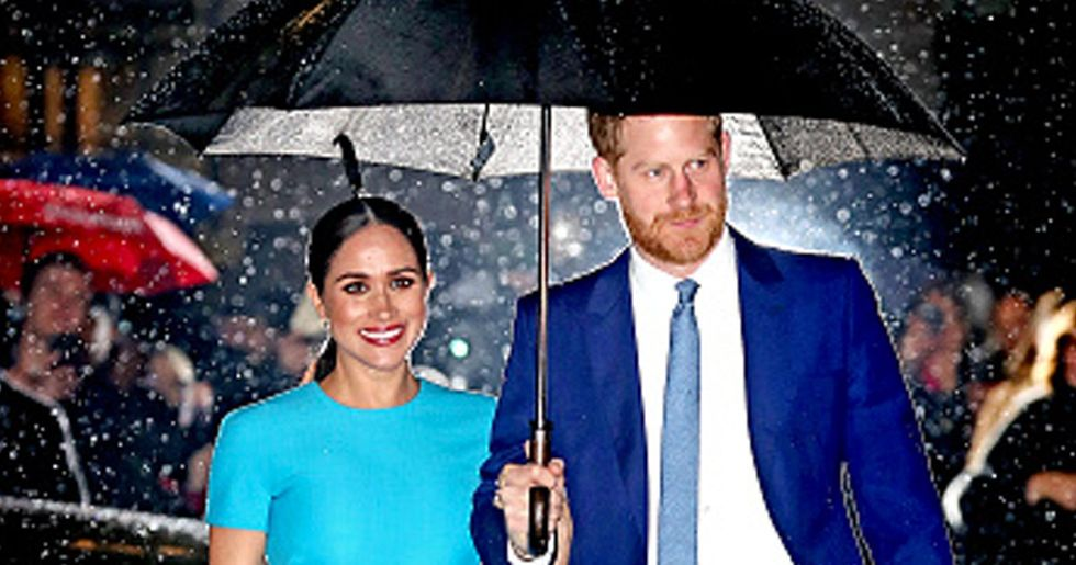 Prince Harry and Meghan Markle's Rain Picture Called 'Most Iconic Photo Ever'