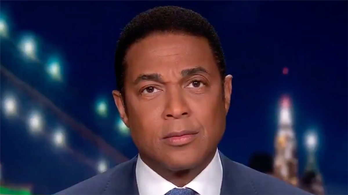 ​WATCH: CNN's Don Lemon hilariously buries conservative 'snowflakes' whose feelings were hurt by Trump loss