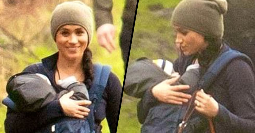 Meghan Markle Mom-Shamed Over Pictures of Her 'Awkwardly' Holding Baby Archie