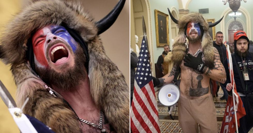 Capitol Rioter in Horned Hat Has Been Arrested and Charged