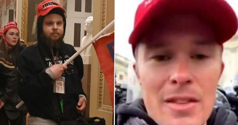 Capitol Building Rioters Are Being Fired After Being Identified